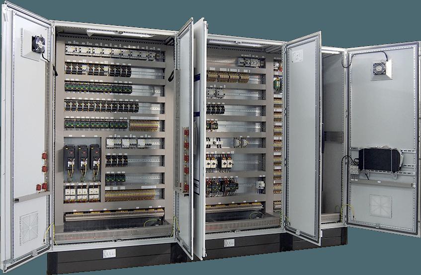 Armario eléctrico con Autómatas y PLCs – ICARE Automation