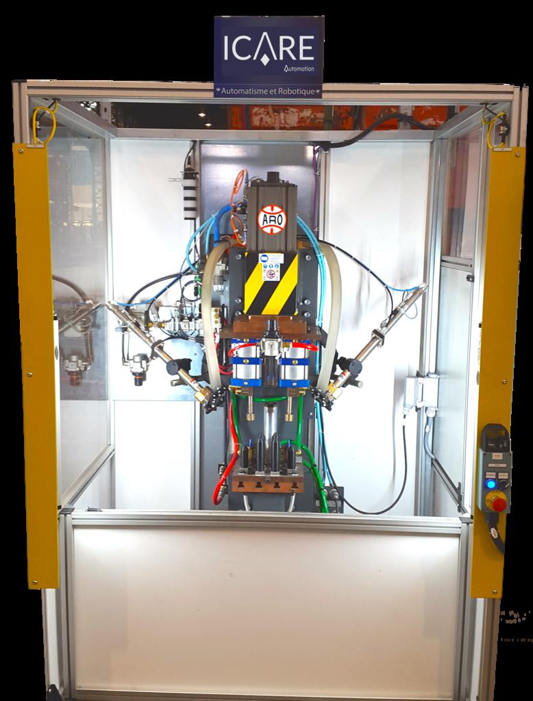 Instalación neumática ICARE Automation