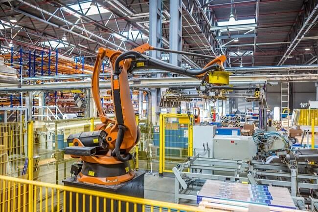 Paletizado Robótica Industrial ICARE Automation