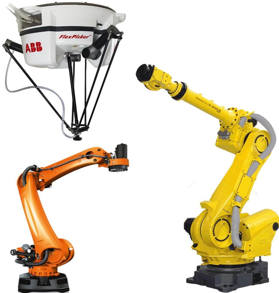Colección de Robots ABB, KUKA y Fanuc - Robótica Industrial